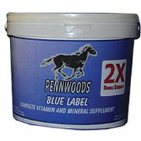 Pennwoods Equine Products 612453 Blue Label 2X 4 Pound