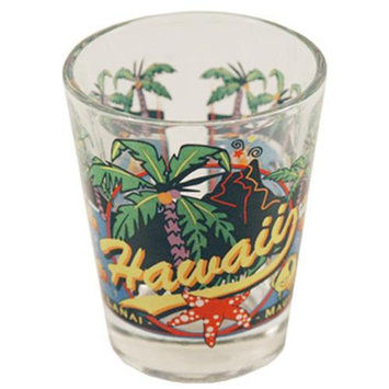 Ddi Hawaii Shot Glass 2.25H X 2