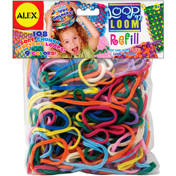 Teacher Created Resources loop 'n loom refill 108/pkg-multi colors
