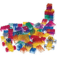 Alex Toys Set Of 50 Prism Bricks