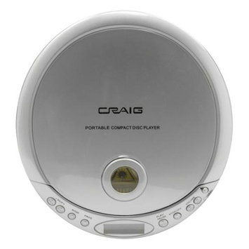 Craig CDM2891 Personal Cd/mp3 Player Anti-skip With Earphones