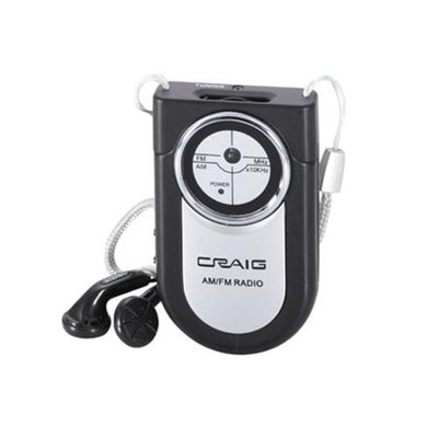 Craig Portable Pocket Radio