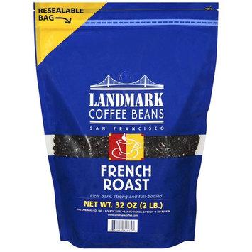 Landmark Lighting Landmark Coffee French Roast Coffee Beans, 32 oz