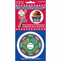 Cupcake Creations BKCUP-8979 Standard Baking Cups-Baseball 32-Pkg