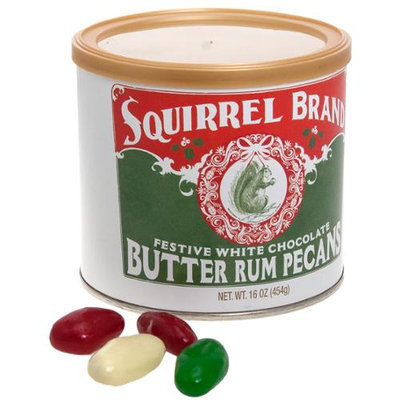 Squirrel Brand Butter Rum Pecans White Chocolate Festive Artisan Candy Nut Mix