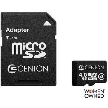 Centon Electronics Centon 4GB microSD High Capacity (microSDHC) - Class 4 - 1 Card