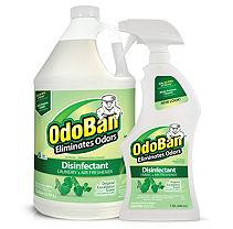 OdoBan Odor Disinfectant, Eucalyptus (1 Gallon Concentrate / 32 oz. Ready-to-Use)