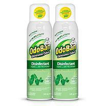 OdoBan 14 oz. Eucalyptus Disinfectant Fabric and Air Freshener Spray 910001-14A