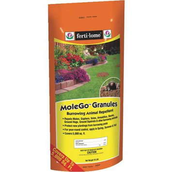 Voluntary Purchasing Group Fertilome 10 Lb MoleGo Burrowing Animal Repellent Granules
