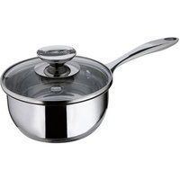 Range Kleen Cucinare Stainless Steel Saucepan with Lid Size: 3-qt.