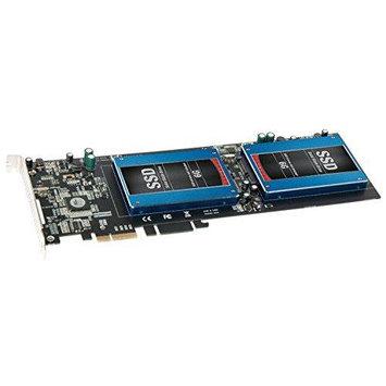 Sonnet TSATA6-SSDPS-E2 Tempo Ssd Pro Plus Dual 2.5in 2.5 Sata Pcie 2.0 Card W/2 Esata