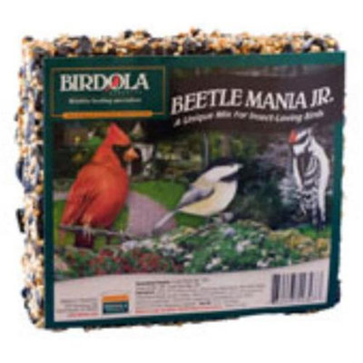 Birdola Products BDOLA54347 Beetle Mania Junior Seed Cake