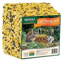 Birdola 54355 7lb Critter Block Food - Pack of 4