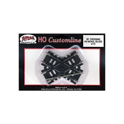 HO Code 100 60-Degree Custom Crossing - Atlas Model Railroad - 175