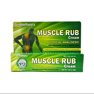 1.25 Ounces Analg Mucsle Rub 3295320012 by Great Lakes Wholesale