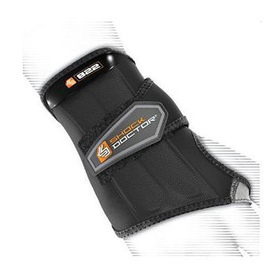 Shock Doctor Slip-On Sleeve Compression Wrist Wrap - Left Hand Small