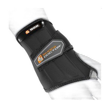 Shock Doctor Slip-On Sleeve Compression Wrist Wrap - Left Hand XL