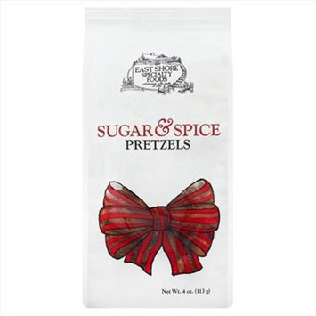 East Shore 4 oz. Specialty Foods Gourmet Pretzels Sugar & Spice - Case Of 18