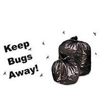Stout Insect Repellent Trash Bags, Black