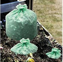 Stout Ecosafe6400 Green Compostable Bags