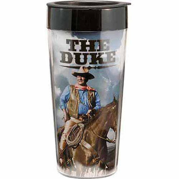 Vandor Plastic Travel Mug, John Wayne