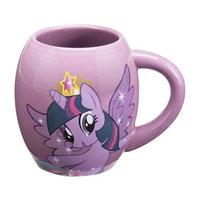 Vandor Products My Little Pony Twilight Sparkle 18 oz. Oval Ceramic Mug