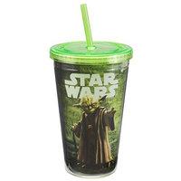 Vandor/lyon Company Vandor Star Wars Yoda 18 oz. Acrylic Travel Cup