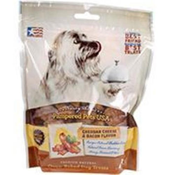 Pampered Pets Dog Treats - Cheese & Bacon - 8 oz.