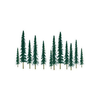 Jtt Scenery Products JTT Miniature Tree 92010 Super Scenic Tree, Conifer 2-4