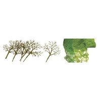 Jtt Scenery Products Prem Tree Kit, Deciduous 3-4(16) JTT92018