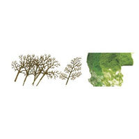 JTT Scenery Products - Premium Tree Kit, Sycamore 1.5-3 (30)