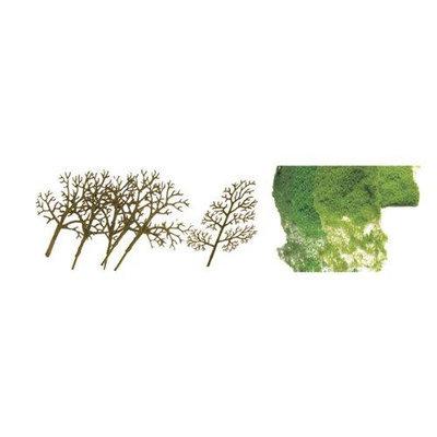 JTT Scenery Products - Premium Tree Kit, Sycamore 1.5-3 (30)