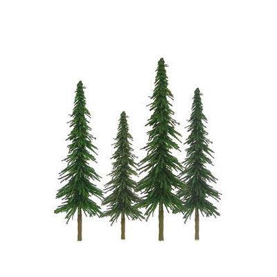 Jtt Scenery Products JTT Miniature Tree 92026 Super Scenic Tree, Spruce 2-4
