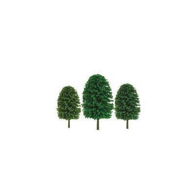 Jtt Scenery Products JTT Miniature Tree 92034 Super Scenic Tree, Evergreen 2-3