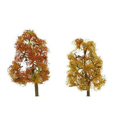 Jtt Scenery Products JTT Miniature Tree 92063 Premium Tree, Autumn Sycamore 3.5-4