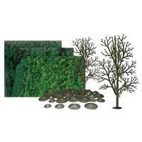 Jtt Scenery Products JTT Miniature Tree 92066 Super Scenic Tree Kit, Sycamore, 8