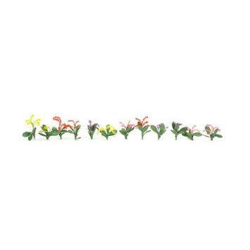 Jtt Scenery Products Petunias, 4 Colors 3/8 (40) JTT95507