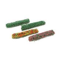 Jtt Scenery Products Flower Hedges, Green 5x3/8x5/8 (8) JTT95509