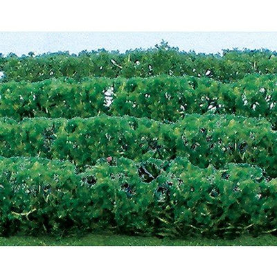 Jtt Scenery Products Flower Hedges, Green 5x3/8x5/8 (8) JTT95515