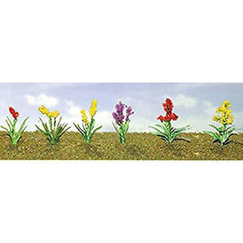 Flowering Plants Assortment 2, 3/4 (10) JTT95560 JTT Scenery Products