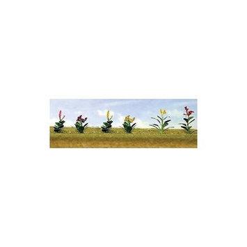 Flowering Plants Assortment 4, 3/4 (10) JTT95564 JTT Scenery Products
