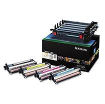 Lexmark C540x74g C54x Black And Color Imaging Kit