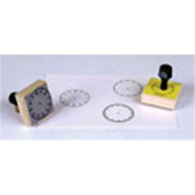Center Enterprises 3-ClockTime Stamp Set