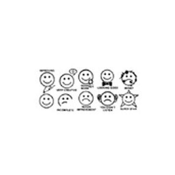 CENTER ENTERPRISES CE-1204 STAMP SET SMILES