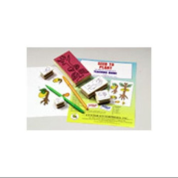 CENTER ENTERPRISES CE-994 STAMP SET LIFECYCLE SEED TO PLANT-5/PK
