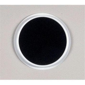 CENTER ENTERPRISES CE-6606 JUMBO CIRCULAR WASHABLE PADS BLACK-SINGLE