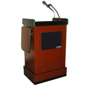 Amplivox Sound Systems Lectern W/sound, mahogany Ss3230-mh 30f207