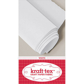 C & T Publishing 20244 Kraft-Tex Kraft Paper Fabric-White 18 in. X54 in.