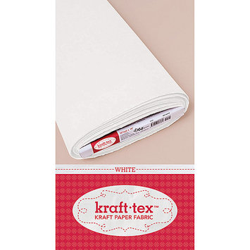 C & T Publishing Kraft-Tex Kraft Paper Fabric-White 19 X10yd