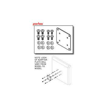 Peerless LCD Adapter Plate Kit - Black